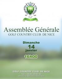 Assemblée Générale 16h00