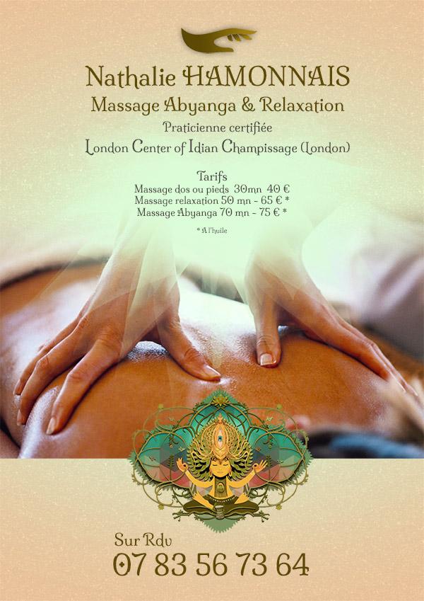 affiche massage